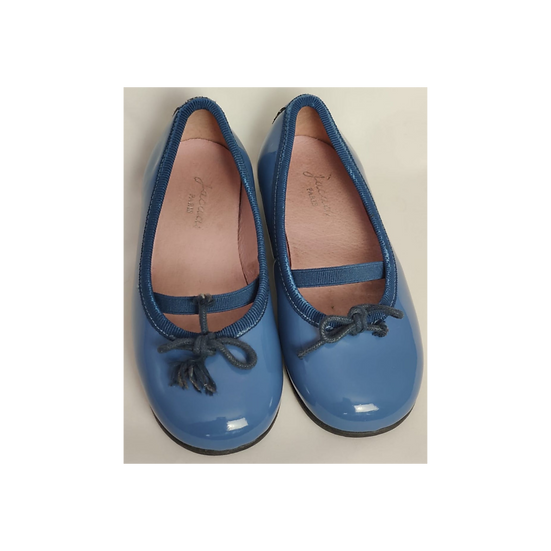 Jacadi Teal Patent Loafers