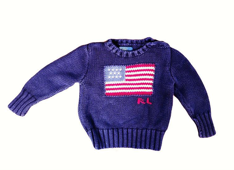 Ralph Lauren Knit Flag Jumper