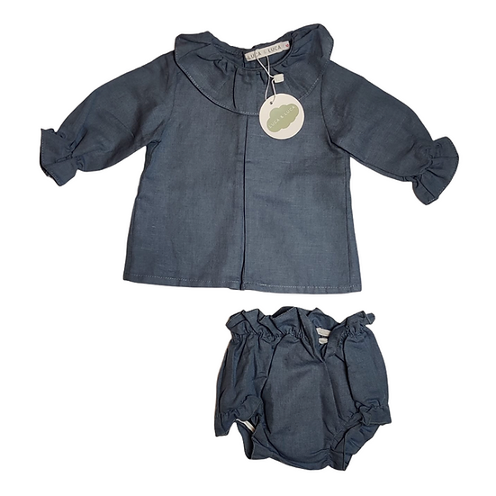 Luca & Luca Grey Shirt and Bloomers