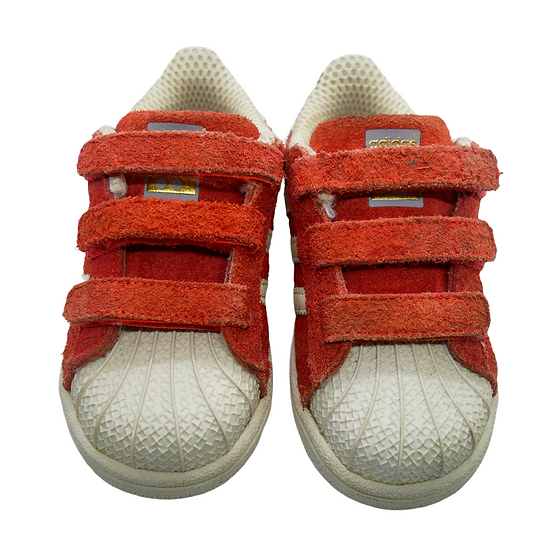 Addidas Limited Edition Superstar Bonpoint ColaborationTrainers Red