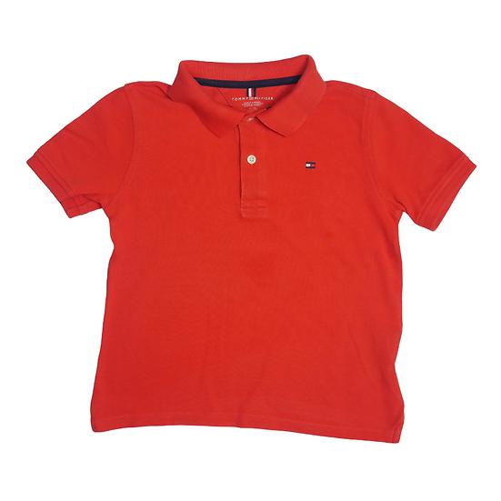 Tommy Hilfiger Polo Tshirt Burnt Orange