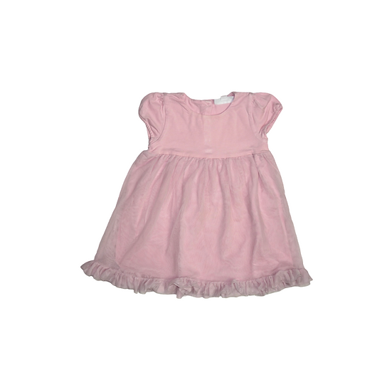 The Little White Company short sleeve Jersey Tutu Dress in Pink