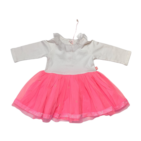 Billie Blush White and Pink Tutu Dress
