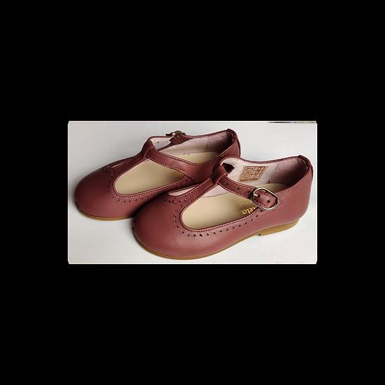 La Coqueta Baby mauve shoes