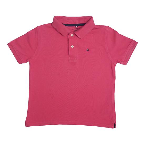 Tommy Hilfiger Polo Tshirt Salmon Pink