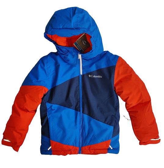 Columbia Alpine Jacket in blue and orange