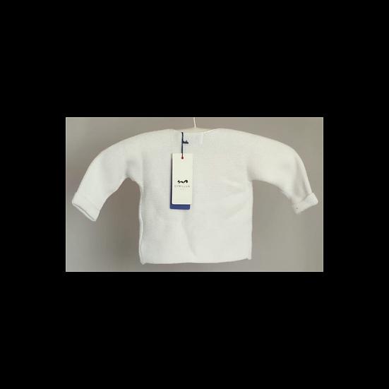 Cyrillus Paris White Knit Cardigan