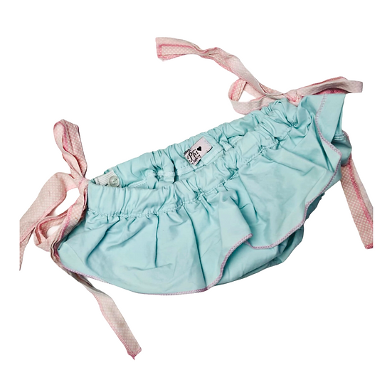 Phi Clothing - Blue Bloomers with pink bows