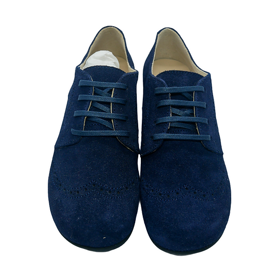 Start Rite Navy Velvet Shoes