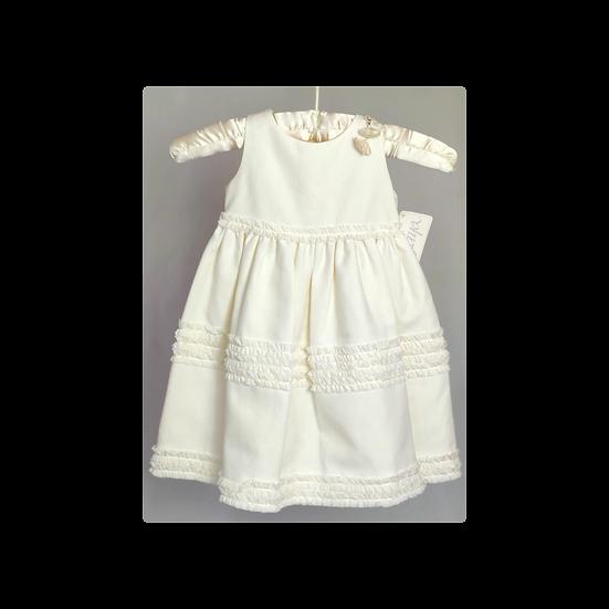 Amaya Girls Cream Dress