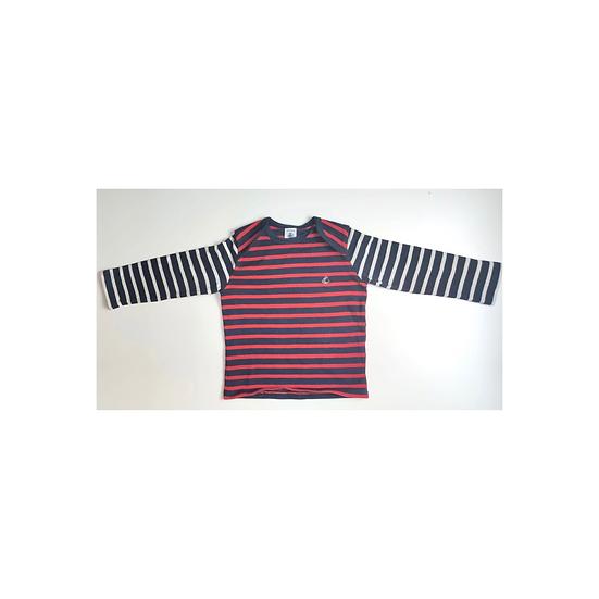 Petit Bateau Striped Long Sleeve T shirt