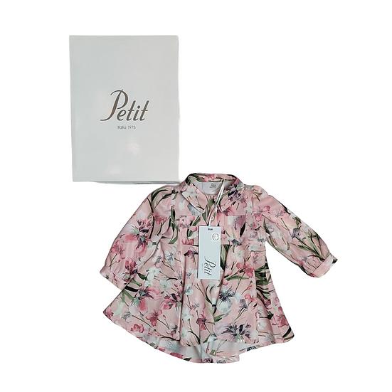 Petit Floral Dress with Swarovski detail