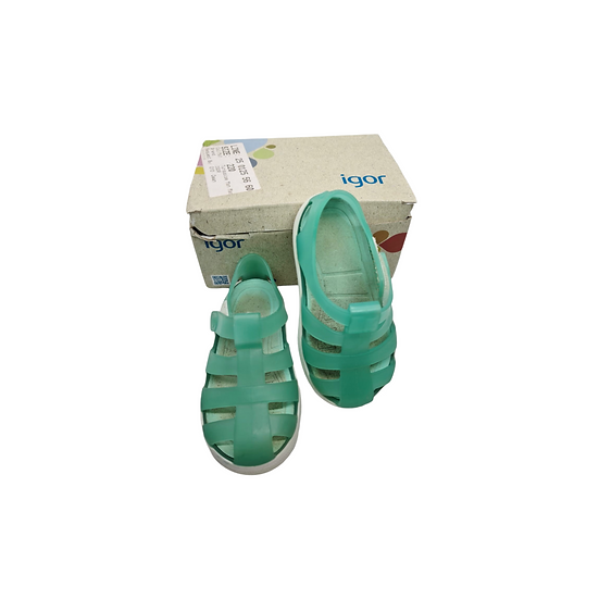 Igor turquoise jelly sandals