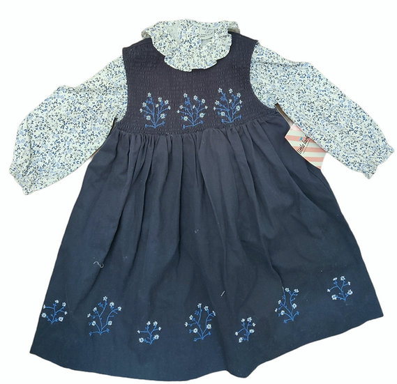 Little Larks Shirt and cord dress