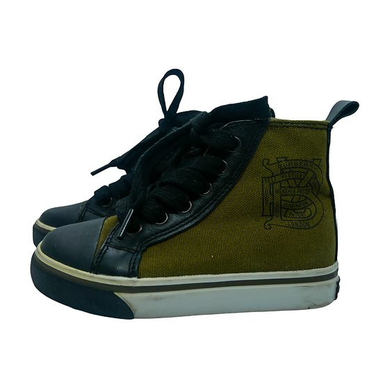 Burberry Army Green High Tops