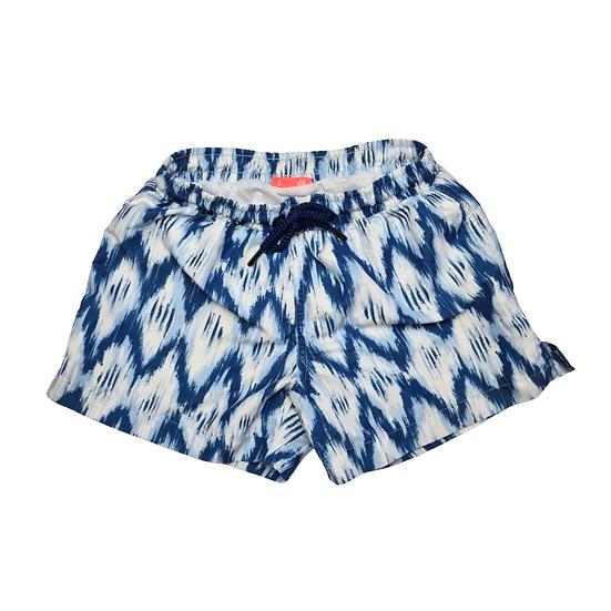 Sunuva Boys Blue and White Swim Shorts UVF50+