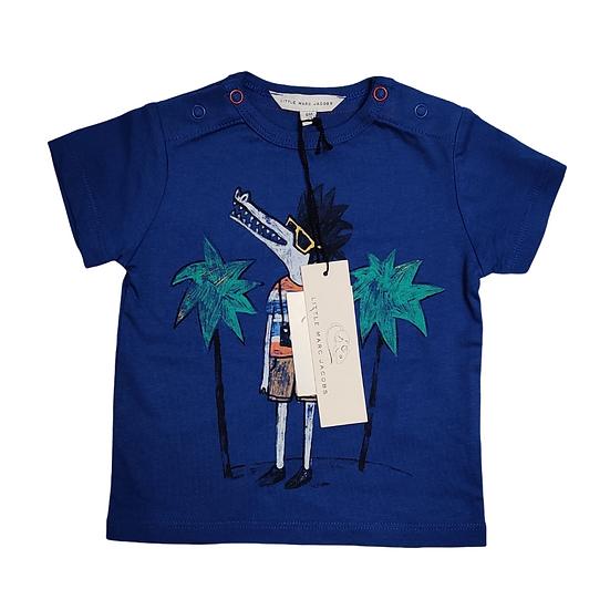 Little Marc Jacobs T Shirt Aligator Print