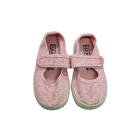 Hampton Canvas Martha Canvas Shoes in Pink Floral