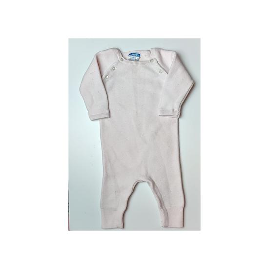 Jacadi Baby Pink Knitted onsie