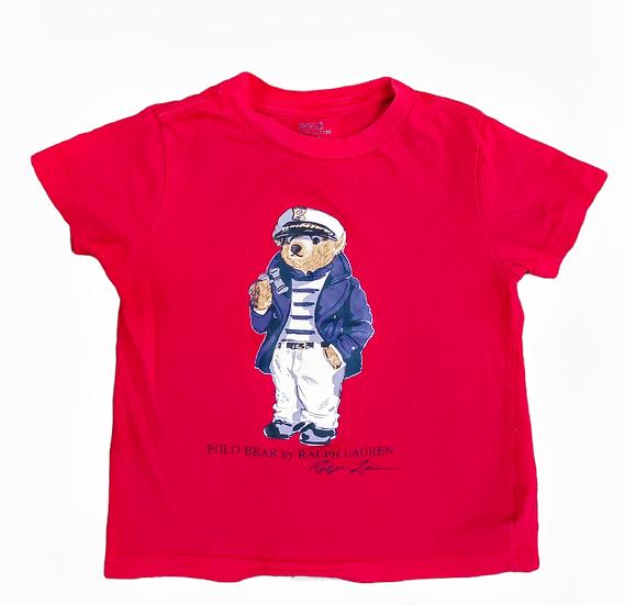 Ralph Lauren Red t-shirt with bear motif