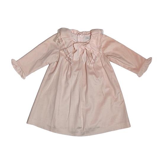Patachou pink velvet dress