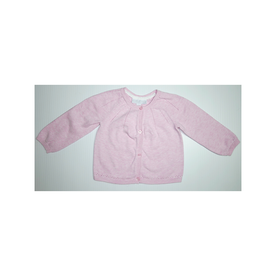 The Little White Company Pink Cardigan