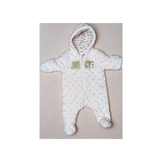 Juicy Couture Baby Pink Pramsuit