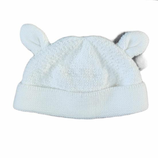 The Little White Company Lamb Knit Cotton Hat