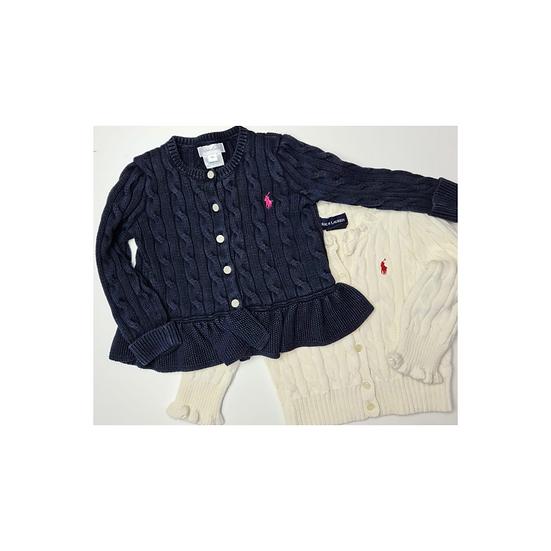 2 Ralph Lauren Cable Knit Cardigans