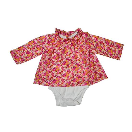 Jacadi Floral Shirt Vest