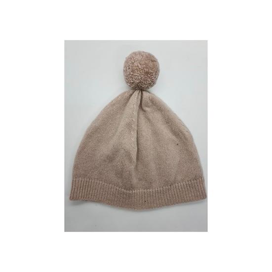 Belle Enfant Pom Pom Hat - Taupe