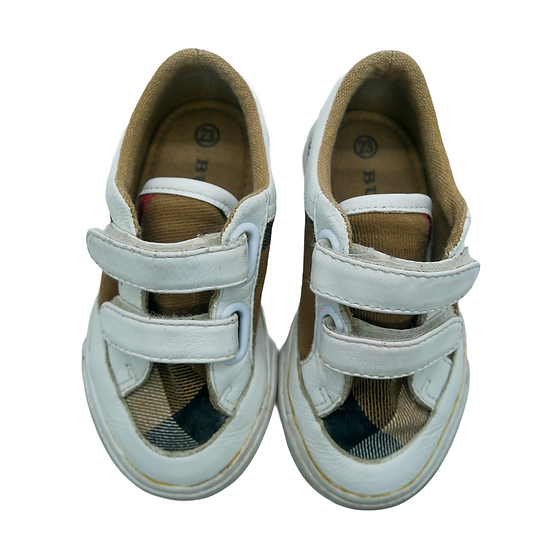 Burberry White Trainers