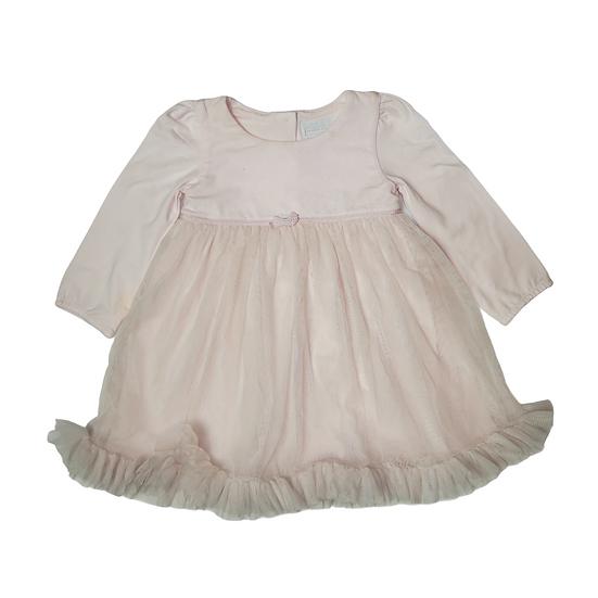 Little White Company Jersey Long Sleeve Tutu Dress