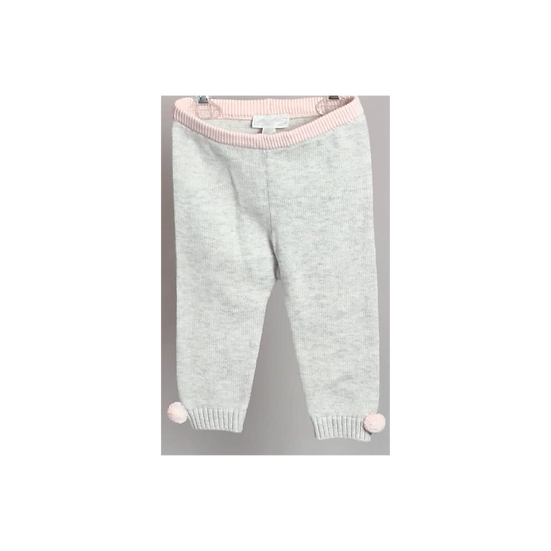 The Little White Company Knitted Pom Pom Leggings