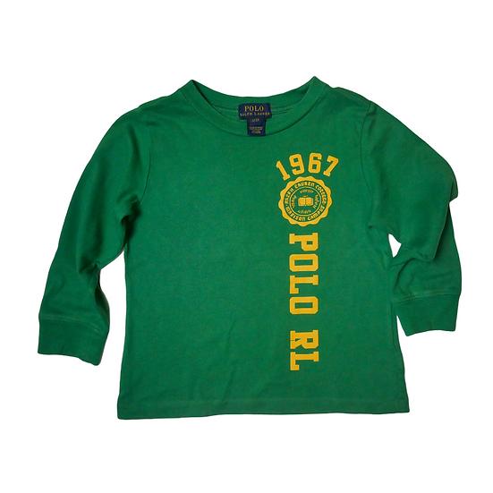 Ralph Lauren Green Long Sleeve Tshirt