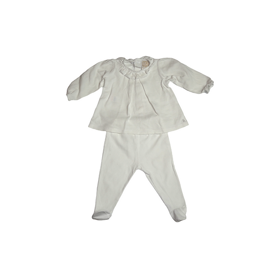 Emile et Rose White Trouser and Shirt Outfit