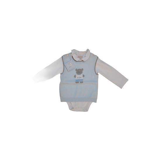 Emile et Rose Sweater Vest and Bodysuit