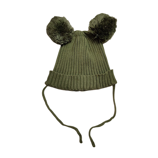 Mini Rodini - Ear Hat Beanie - green