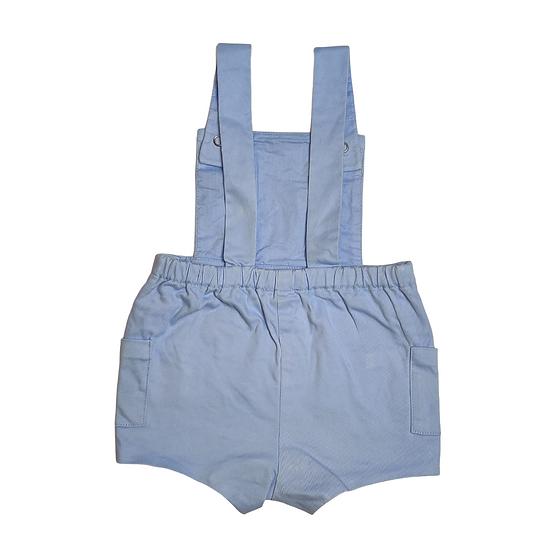 Jacadi Blue Shorts Dungarees