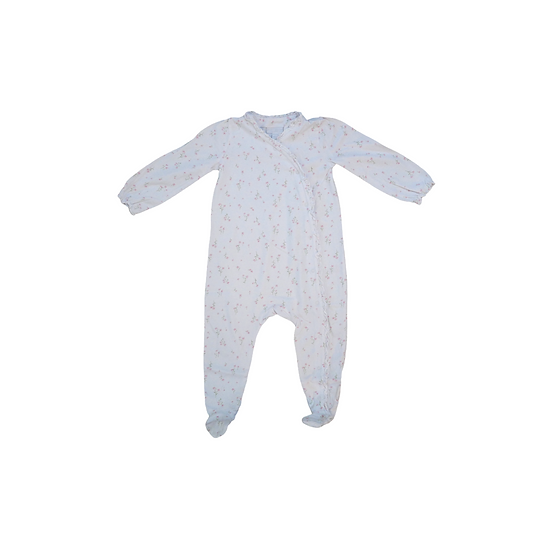 The Little White Company Floral Print Babygrow