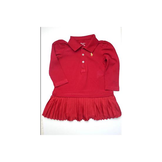 Red Ralph Lauren Red Cotton Dress