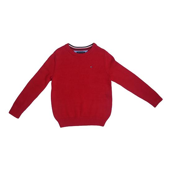 Tommy Hilfiger Red Knit Jumper