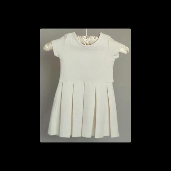 Ralph Lauren Cream pleat Dress