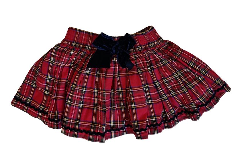 Configure Red Tartan Skirt
