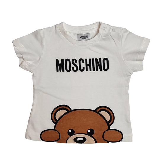 Moschino Baby Tshirt with Bear