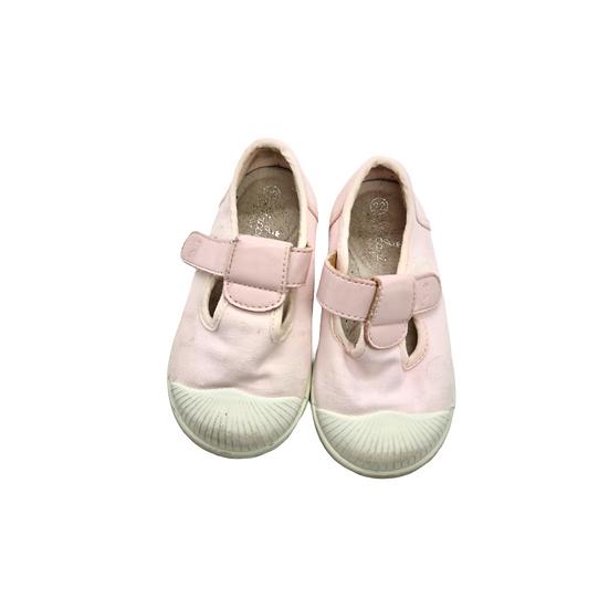 Jacadi Pink Cotton Summer Shoe