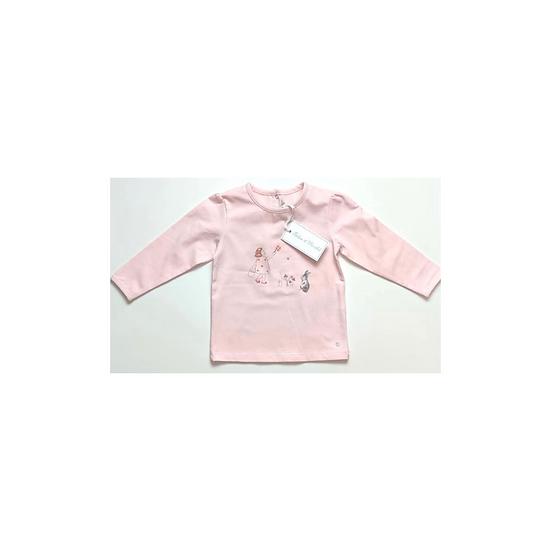 Tartine et Chocolat Baby chic london pink long sleeve tshirt