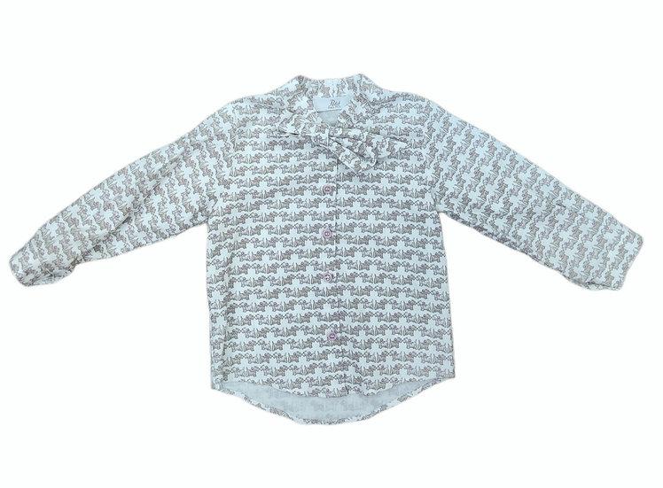 Petit Shirt with Scottie Print