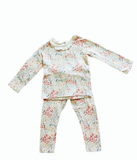 Petit Bateau Pyjamas with frill collar