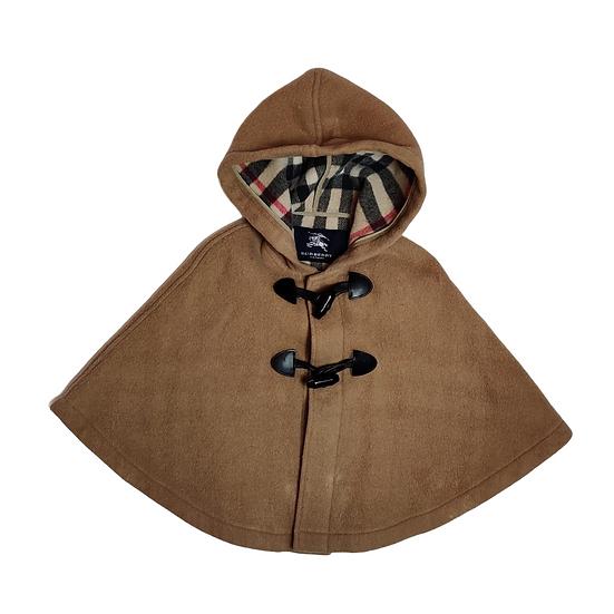 Burberry 'Rosa' Wool Wrap Cape